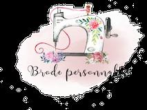 Brode personnalise Logo